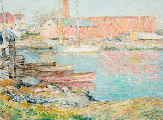 Lost Landscape Revealed: Childe Hassam and The Red Mill, Cos Cob | Greenwich Historical Society