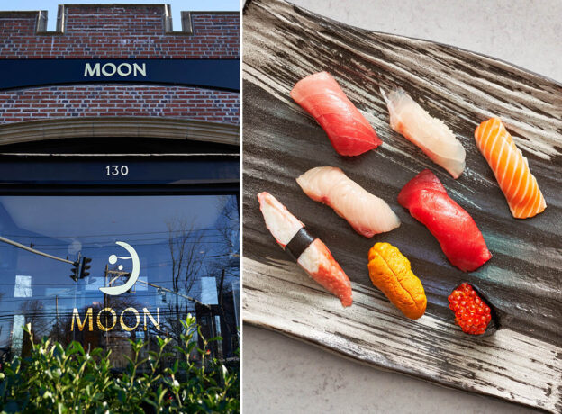 Moon Restaurant Opens in Greenwich Offering Japanese, Chinese + Thai Flavors with an American Twist