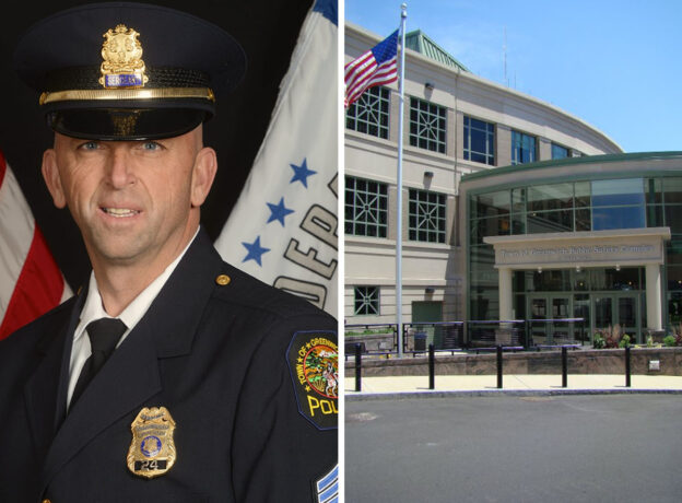 """Sergeant William """"Bill"""" Larkin retires from Greenwich Police after 28 years of Service"""