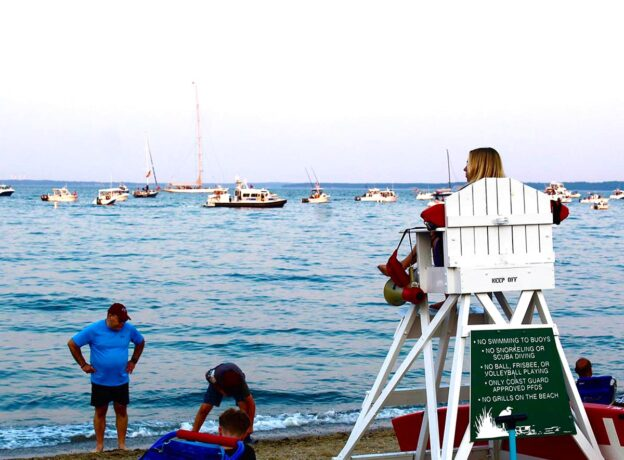 PHOTO GALLERY: 4th of July Fireworks at Greenwich Point
