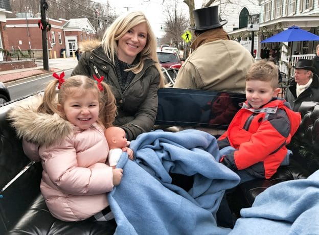 Holiday Horse and Carriage Rides in Cold Spring Harbor