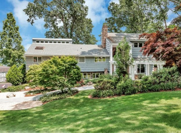 Real Estate: Vanderbilt Neighborhood Gem with Panoramic Views Of Northport Harbor + Deeded Beach and Mooring