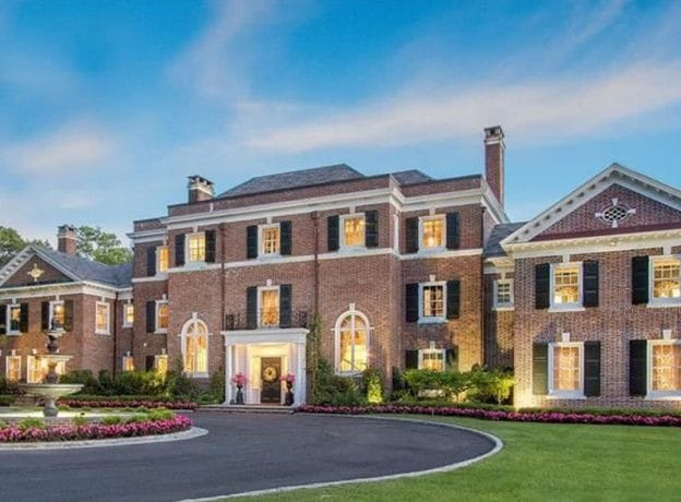 Real Estate: $13.8M Old World Georgian Colonial Previously Purchased by JP Morgan and Wally Szczerbiak