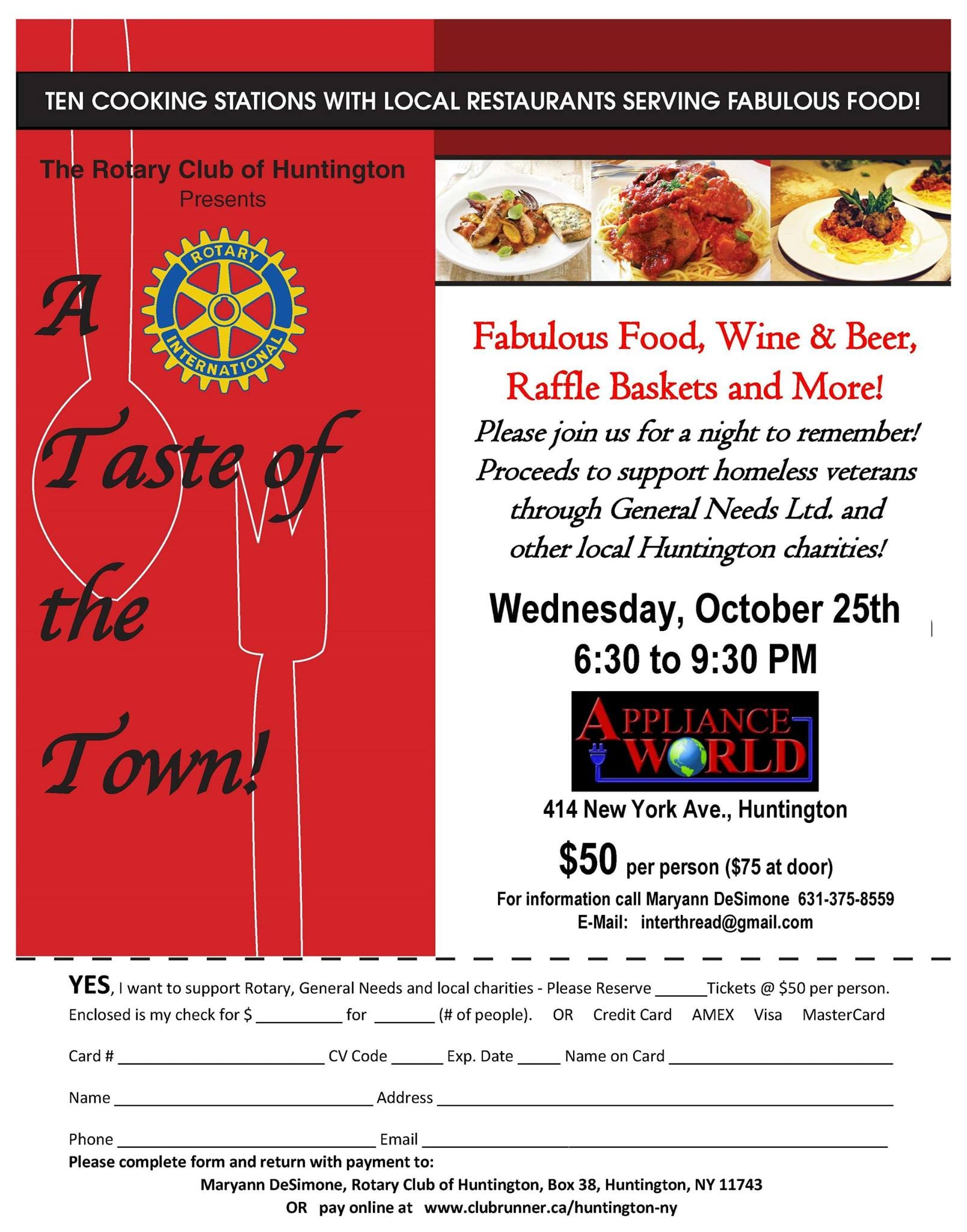 What to expect at the 2017 Huntington Taste of the Town