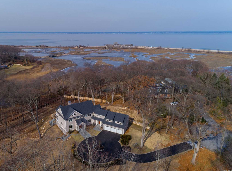 Real Estate: Exquisite 11 Room Custom Colonial Residence With Show Stopping Sunsets