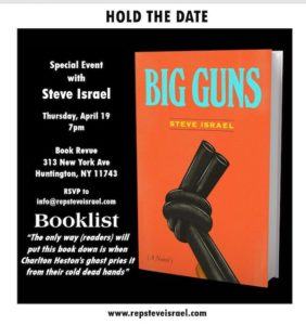 Author Lecture and Book Signing - Steve Israel - Book Revue