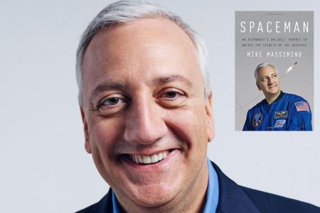 2018 Author Event - Mike Massimino Author of 'Spaceman'