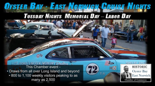 Historic Oyster Bay Cruise Night