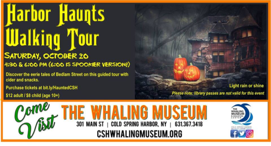 Harbor Haunts Walking Tour of CSH