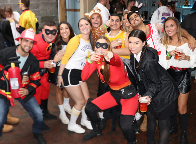 Photo Gallery: Huntington Halloween Bar Crawl 2018