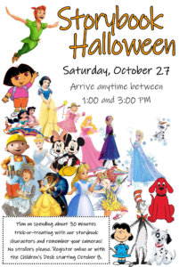 Storybook Halloween at the Library