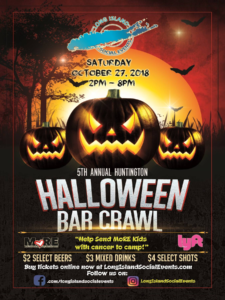 Huntington Halloween Bar Crawl