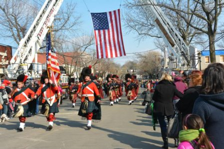 The 85th Annual Huntington St. Patrick's Parade