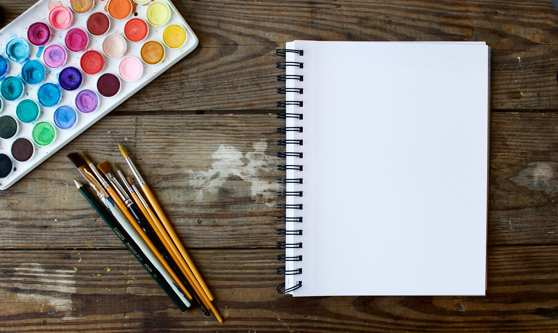 Fearless Watercolors at Harborfields Public Library