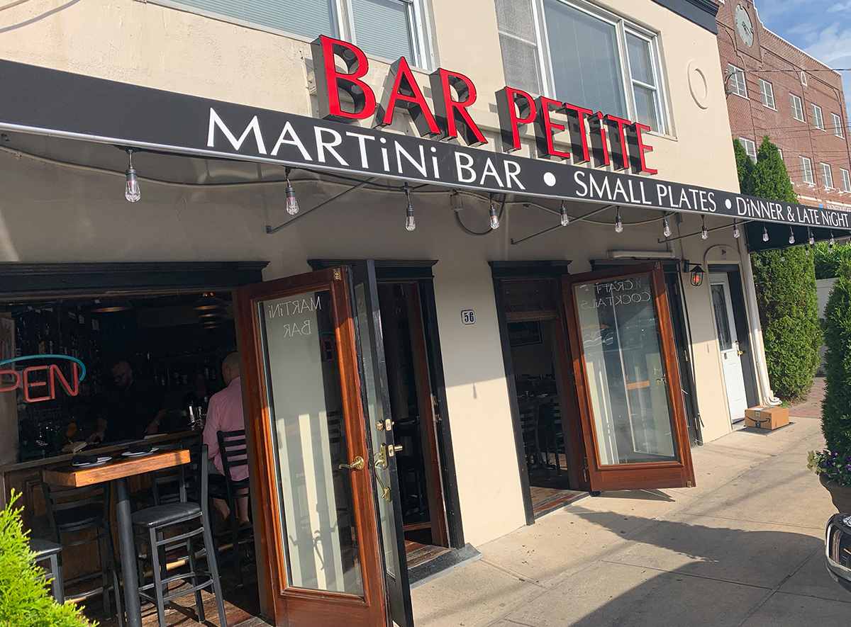 CONTEST WINNER ANNOUNCEMENT:  $100 Gift Card for Bar Petite in Huntington Village!!