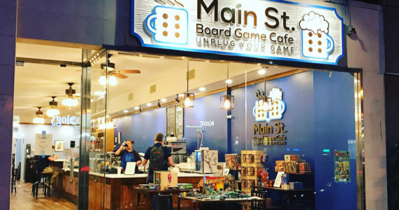 Gamers United Meetup at Main St. Board Game Cafe