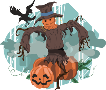 Make a Scarecrow at Cold Spring Harbor Library