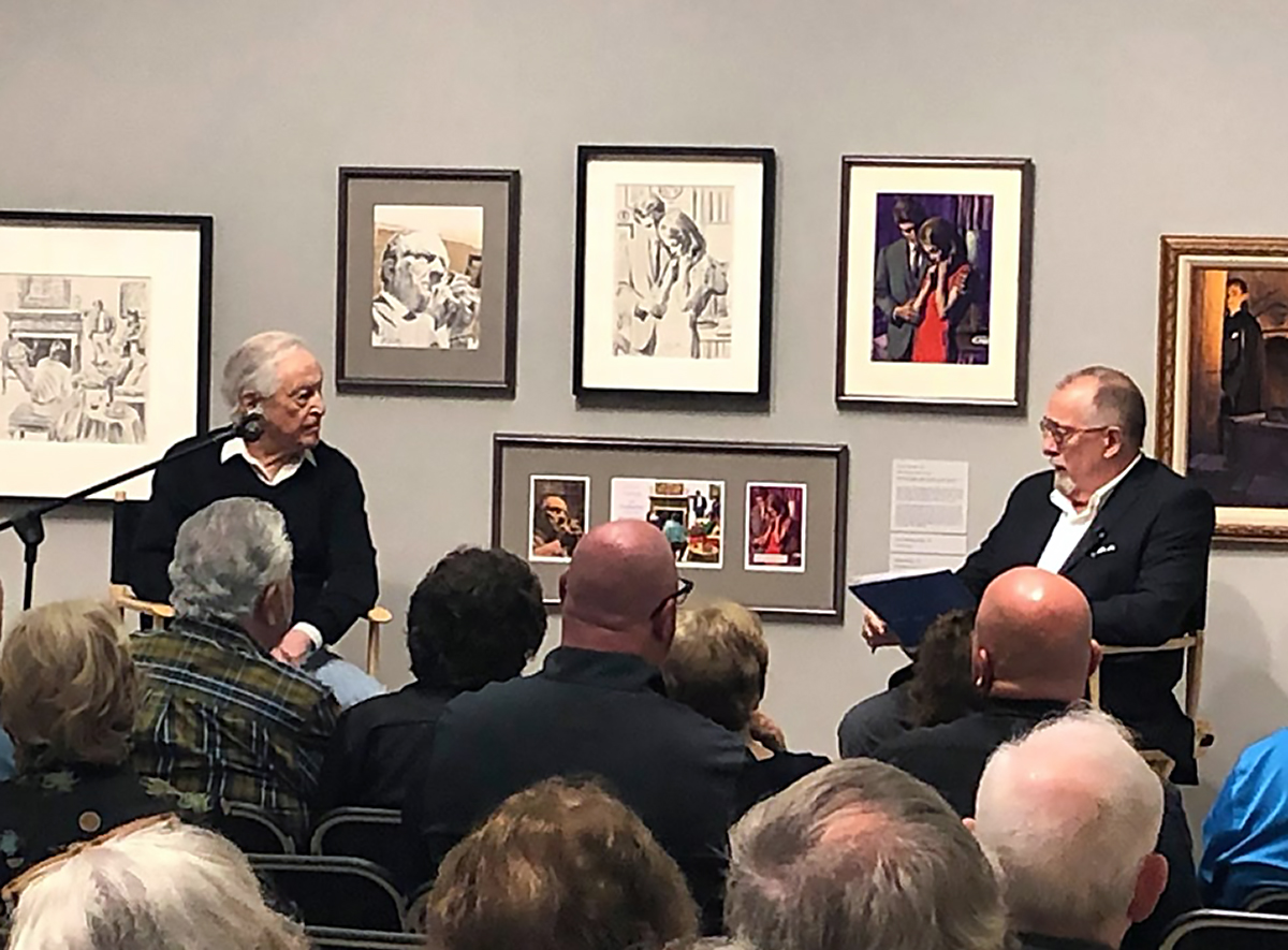 Prolific artist Mort Künstler Speaks at The Heckscker Museum of Art