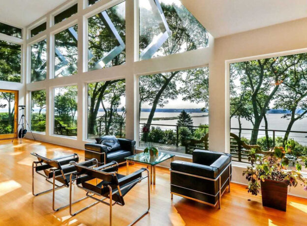 REAL ESTATE: Waterfront Home with Panoramic Views of Lloyd Harbor + Huntington Bay