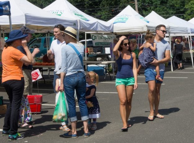 Photo Gallery - Late August at the Greenwich Farmers' Market