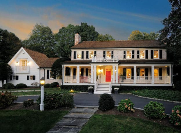 Real Estate: Renovated Center-Hall Colonial Mid Country Estate