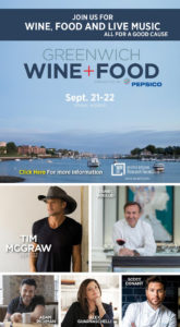 Greenwich Wine + Food Festival - September 21 and 22