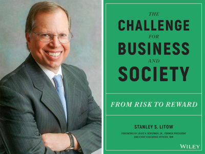 AuthorsLive - 'The Challenge for Business and Society' by Stanley Litow - Greenwich Library