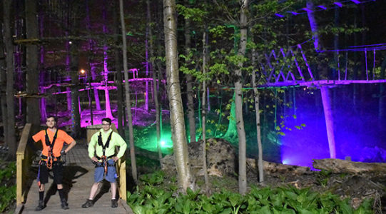 Nights in the Lights at Boundless Adventures