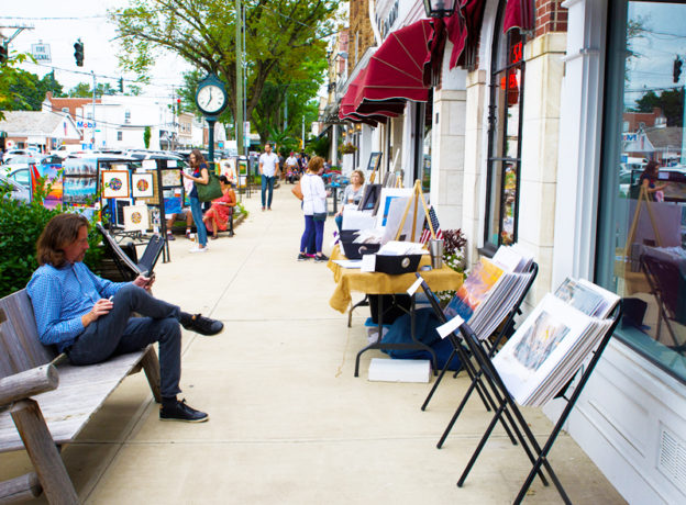 PHOTO GALLERY: 68th Annual Sidewalk Art Show & Sale - Presented by the Art Society of Old Greenwich