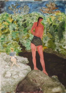 Exhibition - Summer with the Averys - Milton, Sally, March - Bruce Museum Through September 1, 2019