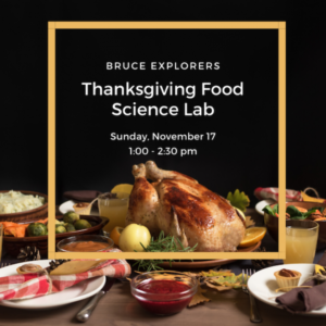 Bruce Explorers - Thanksgiving Food Science Lab - Bruce Museum