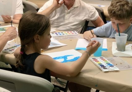 Art Adventures - Watercolor Postcards - Bruce Museum