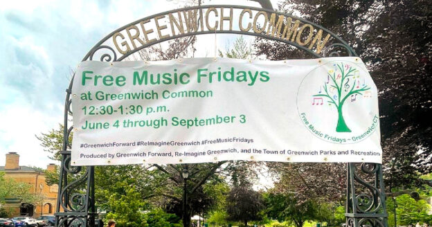 Free Music Fridays at Greenwich Common Park