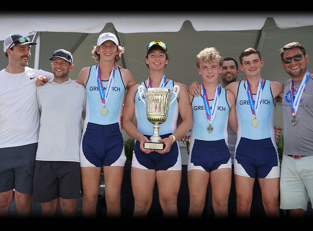 Bringing Home the Gold!!! Greenwich Crew Wins 4 Gold Medals at US Rowing Youth National Championships