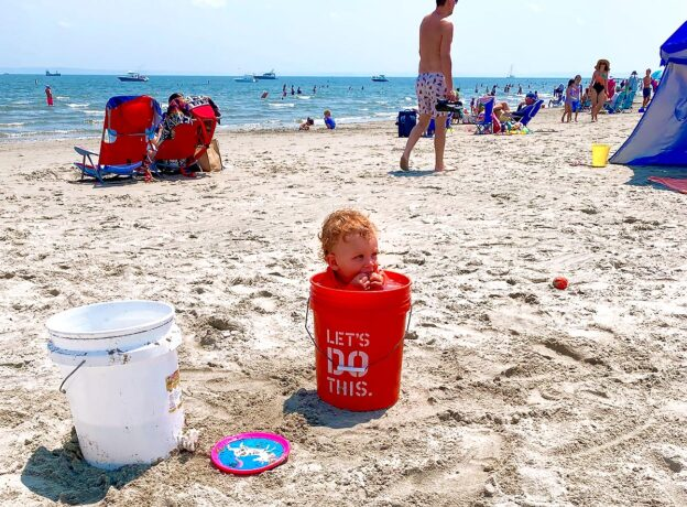 Creativity, Ocean Air, and Sunshine for Sandblast at Tod's Point in Greenwich
