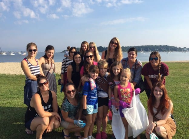 Long Island Area Au Pairs Team Up With Brownies to Make a Difference