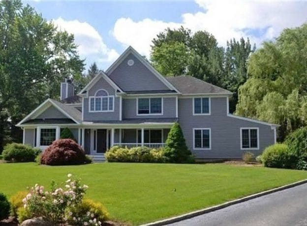 REAL ESTATE: Featured Open House   Center Hall Colonial in Flower Hill Neighborhood
