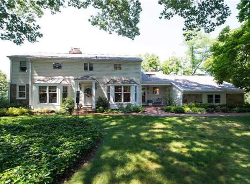 Real Estate: Graceful Rasmussen Colonial Offering Sunset Views Over Huntington Harbor.