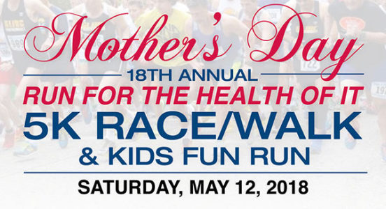 Visiting Nurse Service and Hospice of Suffolk, Inc. 18th Annual Mother's Day Run For the Health of it
