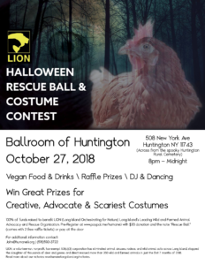 LION's Halloween Rescue Ball & Costume Contest