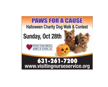 Paws for a Cause, Halloween Charity Dog Walk and Contest