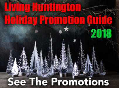 Living Huntington Holiday Promotions Guide