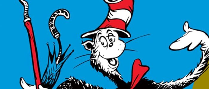 The Cat in the Hat Costume Character at Book Revue