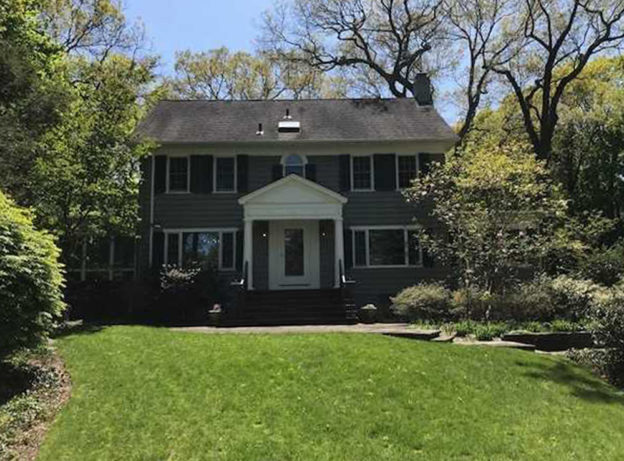 REAL ESTATE: Stately and Gracious Center Hall Colonial in Huntington Bay