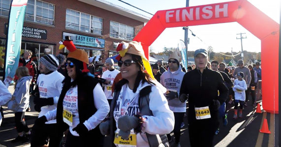 Townwide Fund Thanksgiving Day Run
