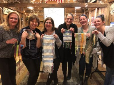 Weaving With Wine