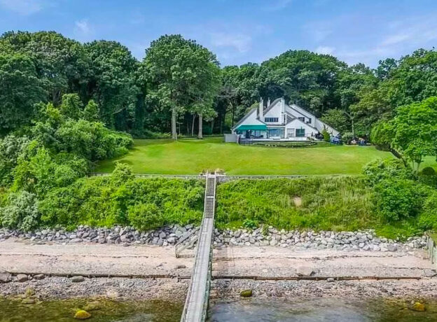 REAL ESTATE: Private Waterfront Residence With A Dock In Lloyd Harbor