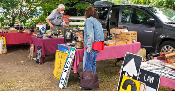 Outdoor Antiques Sale | Huntington Historical Society's Kissam House