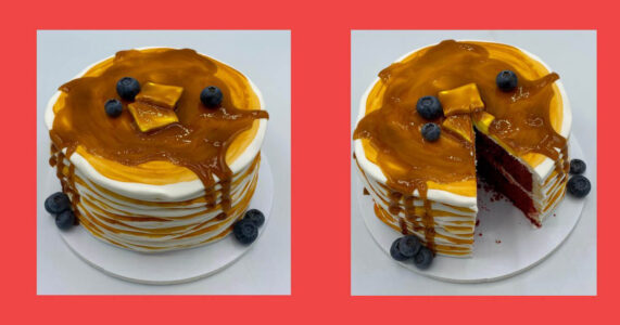 What's for Breakfast?? Pancake Cake Decorating Class! Space is limited!