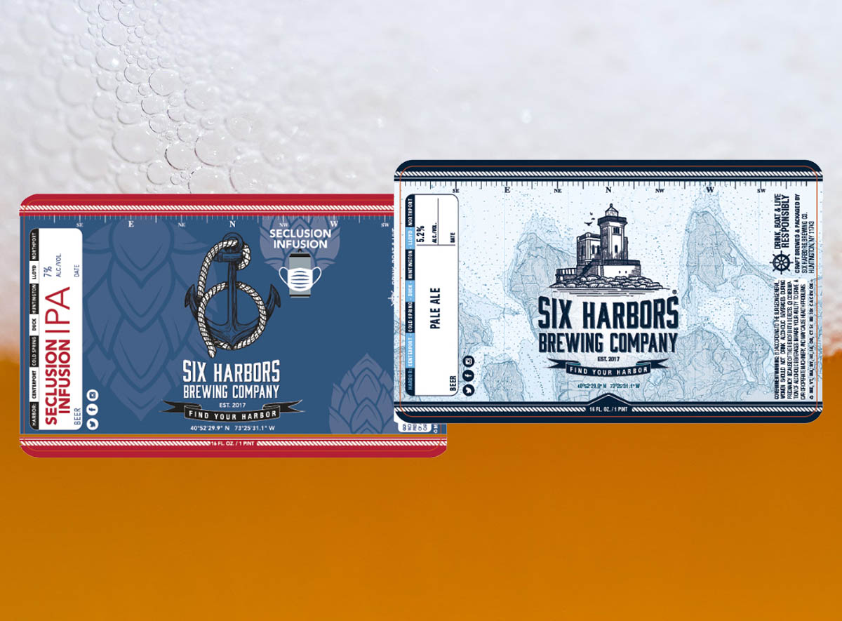 Calling All Artists: See Your Artwork On A Six Harbors Brewing Company Label!